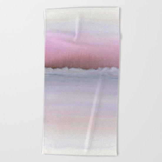 Pastel Horizon Beach Towel