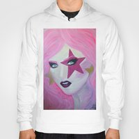 jem Hoodies featuring Jem Star by Clare Chapman