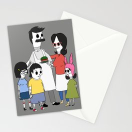 Burgers fam Stationery Cards