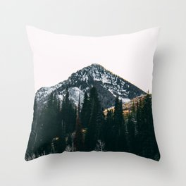 Winter On Its Way Throw Pillow