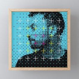 Thom Yorke Framed Mini Art Print