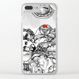 Greatest Plunder of them all Clear iPhone Case