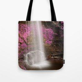 Pink Glencar Falls Tote Bag