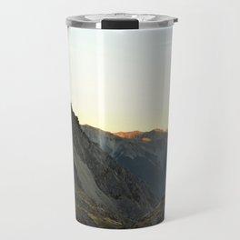 Sunset in Nelson Lakes National Park Travel Mug