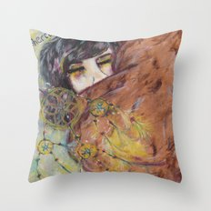 Out of the war Throw Pillow