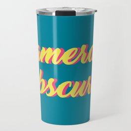 camera obscura Travel Mug