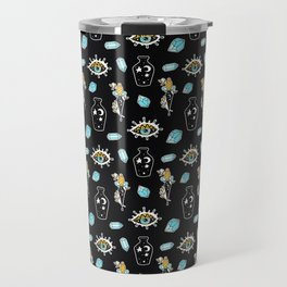 Midnight Summer Magic Pattern Travel Mug