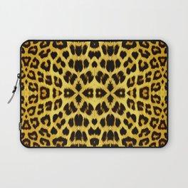 Leopard Print - Gold Laptop Sleeve