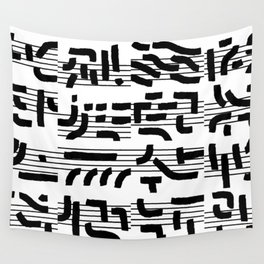 Fragments of Rhizome Paths no. 4 Wall Tapestry