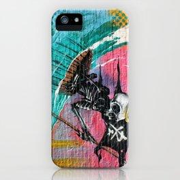 Sailing Skeleton  iPhone Case