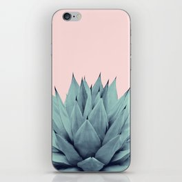 Agave Blush Summer Vibes #1 #tropical #decor #art #society6 iPhone Skin