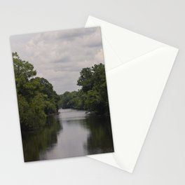 Slow Jungle River Down South Stationery Cards