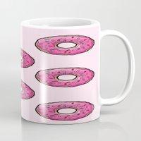 doughnut Mugs featuring Doughnut party! by 2fab4you