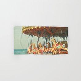 Seaside Carousel Hand & Bath Towel