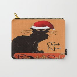 Le Chat Noel Carry-All Pouch