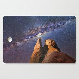 Summer Paradise Galaxy Cutting Board