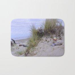 Waldport Oregon - Sand Time Bath Mat