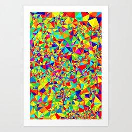 Abstract Pattern XIV Art Print