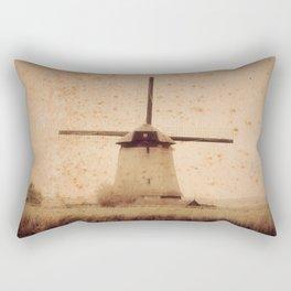 Vintage Mill Rectangular Pillow