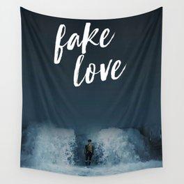 BTS - Fake love Wall Tapestry