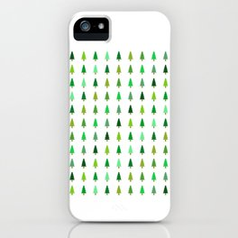 99 trees, none of them a problem iPhone Case