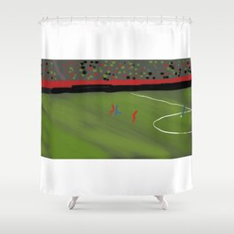 A Tower and a Little Prince Shower Curtain