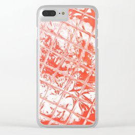 Fire Garden Reflections Clear iPhone Case