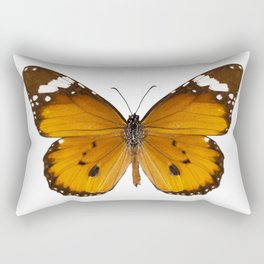 "Butterfly species danaus chrysippus ""plain tiger"" Rectangular Pillow"