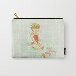 Nixie with the Fish Carry-All Pouch