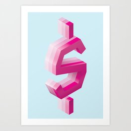 Sweet Money Art Print