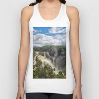 geology Tank Tops featuring Beautiful Barron Falls by Wendy Townrow