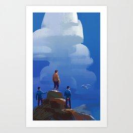 Comrade Art Print