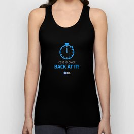 Back At It! Unisex Tank Top