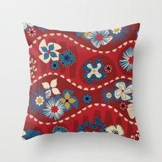 Catalan Throw Pillow
