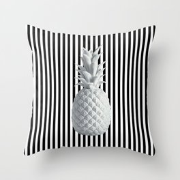 Black and White Anana | #society6 | Pineapple Throw Pillow
