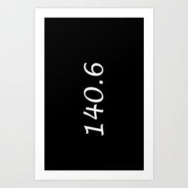 Triathlon - 140.6 Art Print
