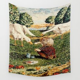 Making Friends Wall Tapestry