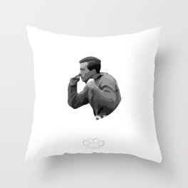 Jerry Mitchell's Boxing Classes | Three O'Clock | At The Parking Lot | High School Gym Design For Me Throw Pillow