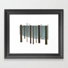 Dear Winter Framed Art Print