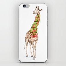 Giraffe in a Scarf iPhone Skin
