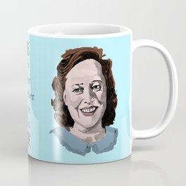 Happy Annie Wilkes - Misery  (Blue) Coffee Mug