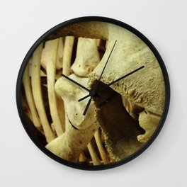 Cow Skeleton Wall Clock