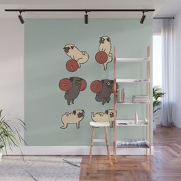 Butt Lift with The Pug Wall Mural