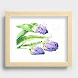 Tulip Dance Recessed Framed Print