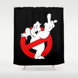 Ghostfinger Shower Curtain