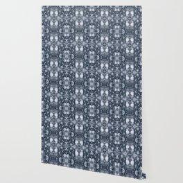 Water Ice pattern Wallpaper