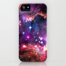 Small Magellanic Cloud's Starry Wingtip iPhone Case