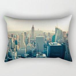 Good Evening New York City Rectangular Pillow