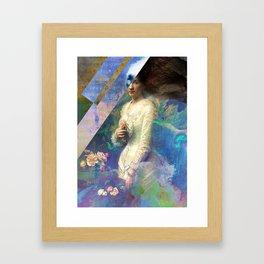 The Syren Framed Art Print