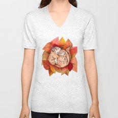 Squirrel Spoon Unisex V-Neck